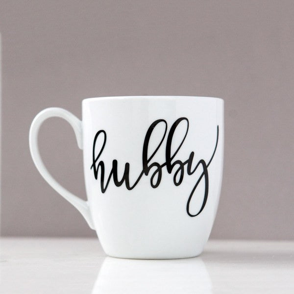 hubby mug, gifts for husband, gifts for groom