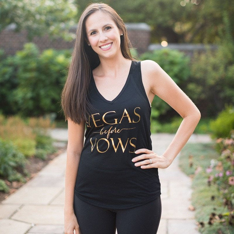 bachelorette tank tops, bridesmaid gifts, vegas wedding