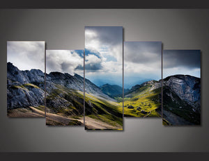 Mount Pilatus Switzerland wall art panel panel picture on canvas Framed UNframed : cheap canvas prints wall paintings pictures