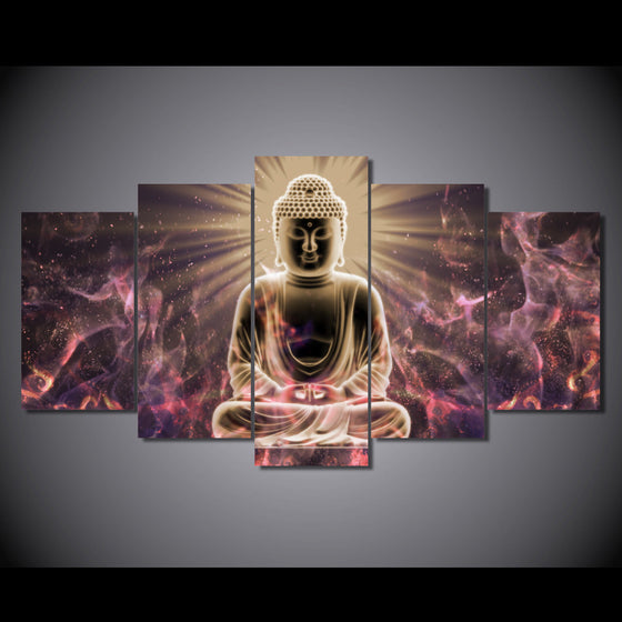 Buddha art on canvas - ASH Wall Decor