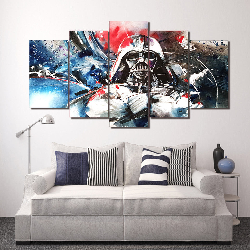 Beau ... HD Printed Darth Vader Star Wars Wall Art On Canvas Abstract Print    ASH Wall Decor ...