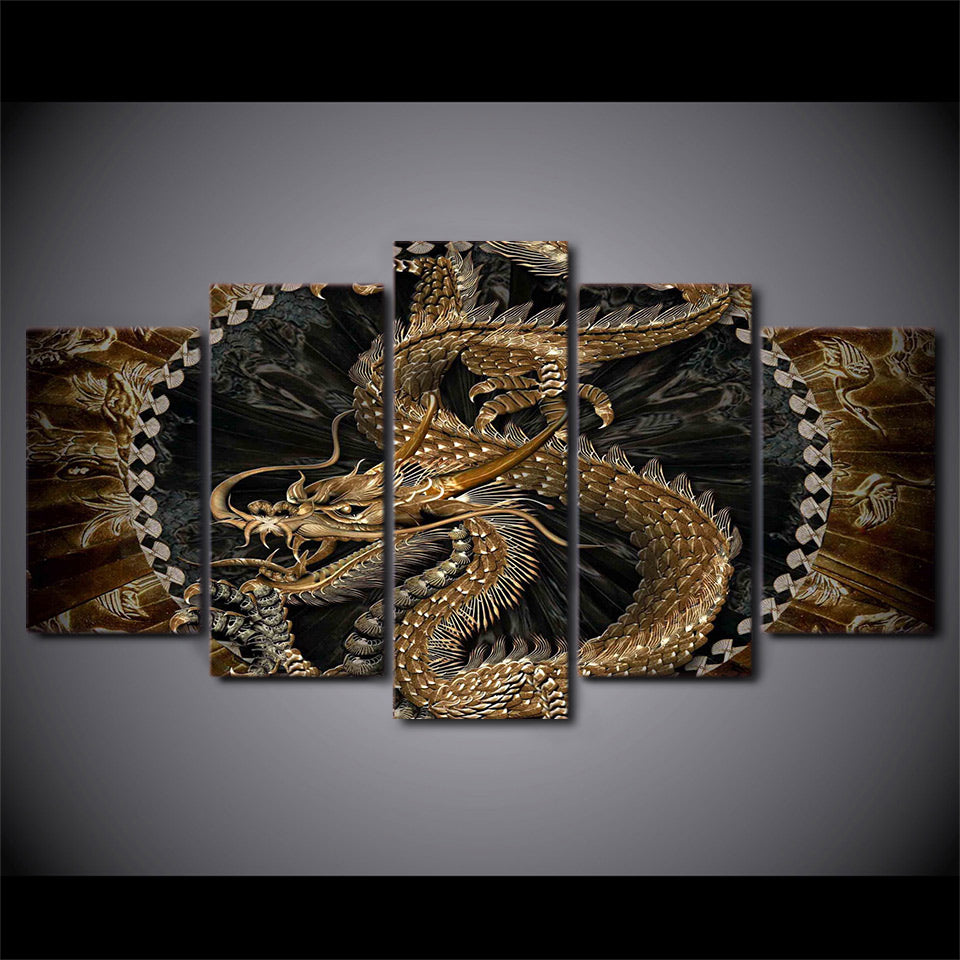 ... Chinese Dragon Wall Art Canvas Decor Wall Art Framed Unframed   ASH Wall  Decor   Wall