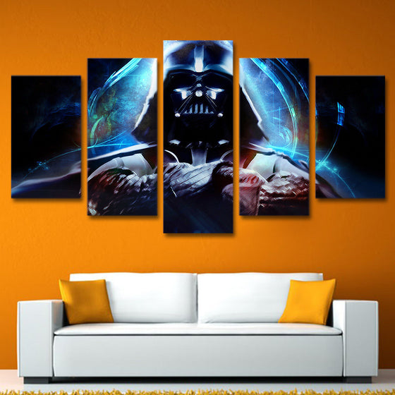 5 piece Star Wars canvas wall art Darth Vader - ASH Wall Decor
