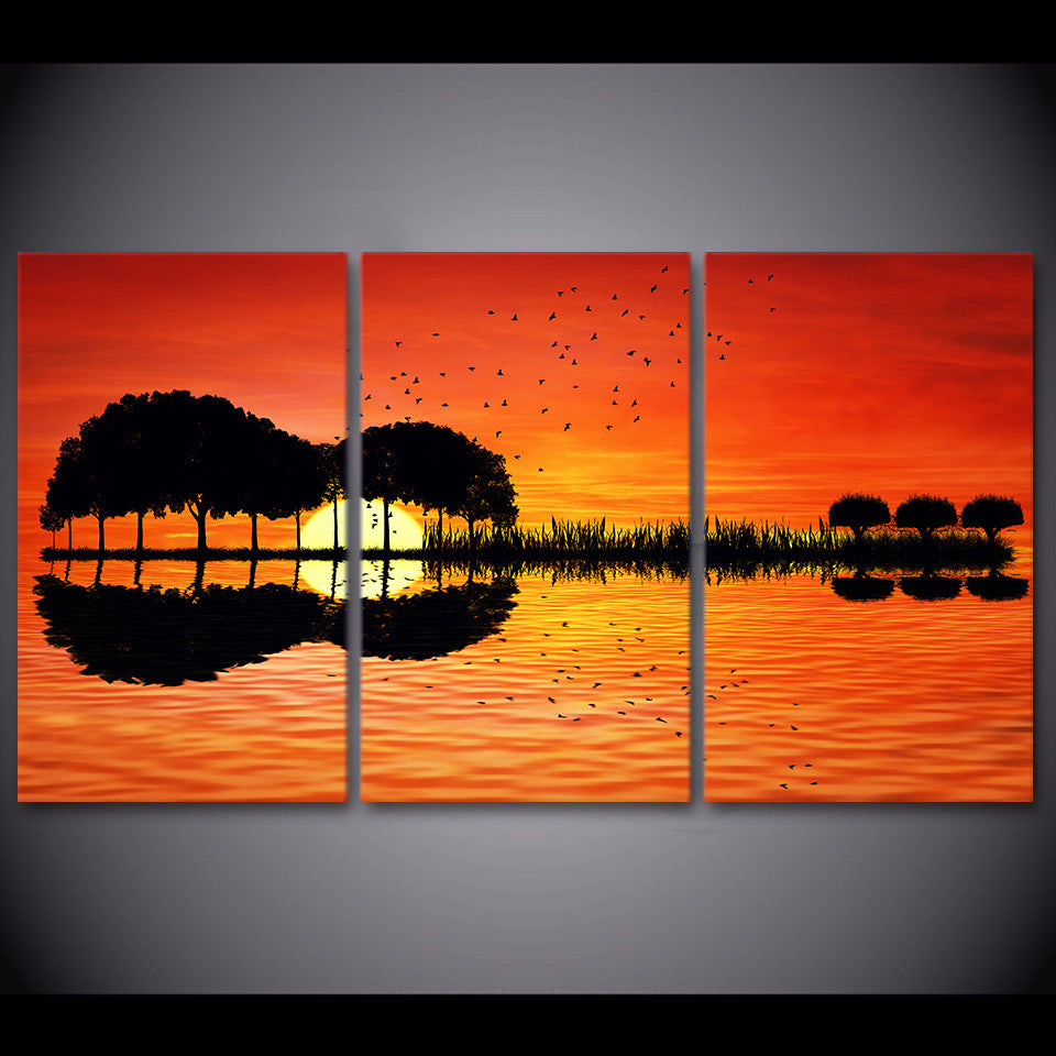 3 Panel Wall Art Prints On Canvas Horizontal And Vertical Styles