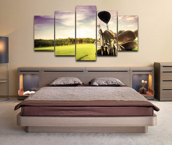 Golf professional golf course Art Home Decor Canvas - ASH Wall Decor - Wall Art Picture Painting Canvas Living Room