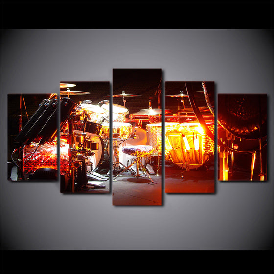 Canvas Art Music AVH kit Drums Wall Art - ASH Wall Decor