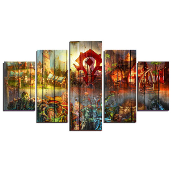 World of Warcraft Modern Home Wall Decor Canvas Art Print Framed UNframed