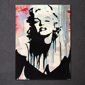 1 Piece Canvas Art Marilyn Monroe Abstract print pop art Wall Picture : cheap canvas prints wall paintings pictures