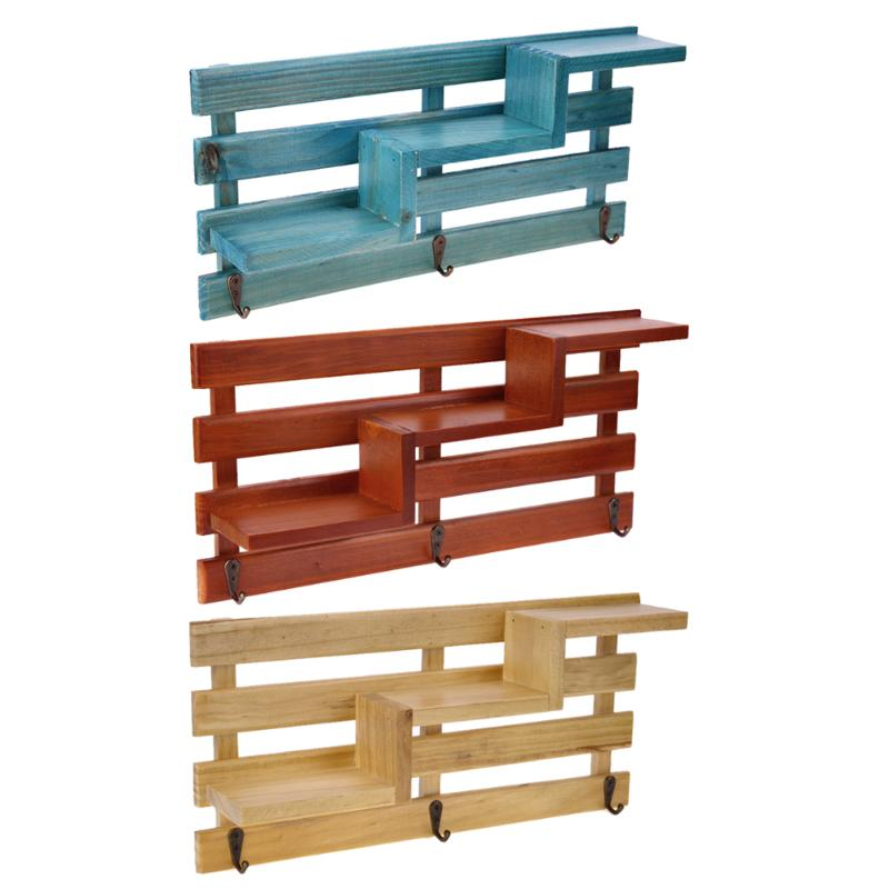 decorative racks item in wall rack wooden box layers from toy storage craft holders vintage cabinet wood furniture shelf