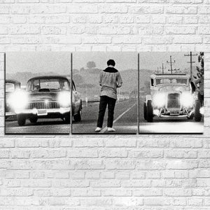 3 Panel Wall Art Once Upon a Time in America Movie Print Man cave Auto Body : cheap canvas prints wall paintings pictures