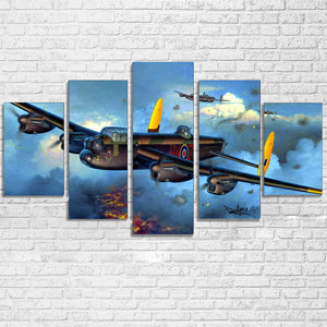 Military Fight War Plane Aircraft Wall Art Print Canvas Panel Decor Framed UNfra : cheap canvas prints wall paintings pictures