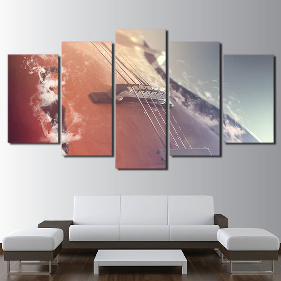 Classical Guitar Music Instrument Wall Picture Modular Home Decor