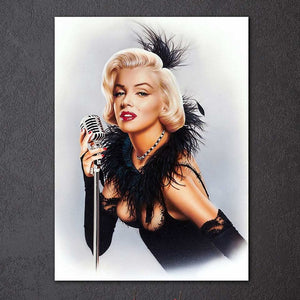 "IN STOCK - Marilyn Monroe Canvas Picture Print  Single Panel LARGE 24""x 32"""