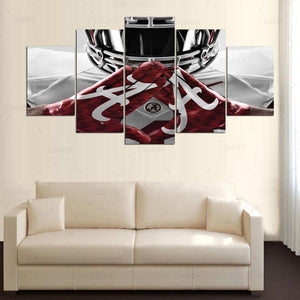 Alabama Crimson Tide college football team print canvas art wall Framed UNframed : cheap canvas prints wall paintings pictures