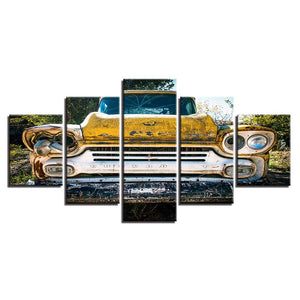 1959 Chevrolet Truck Junk Parts Field Wall Art Canvas Panel Art Print Framed UNf : cheap canvas prints wall paintings pictures
