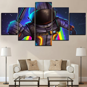 Canvas Fortnite Role Printed 5 Pieces Wall Art Modular Print Home Decor : cheap canvas prints wall paintings pictures