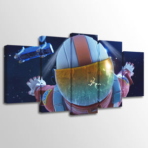 5 Pieces Fortnite Games Poster HD Prints Wall Art Canvas Panel Picture Print : cheap canvas prints wall paintings pictures
