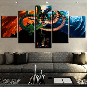 Dragon Ball Z Shenron's Wish Canvas Panel Home Wall Art Decor Picture