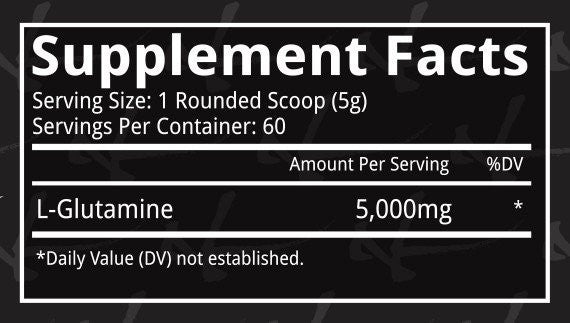 Dynamik Muscle Glutamine ingredient