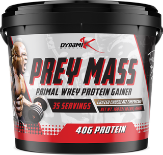 Dynamik Muscle Prey Mass Chocolate - Mass Gainer