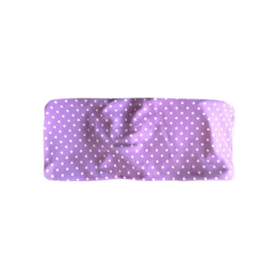 BERMUDA BIKINI TOP IN PURPLE POLKA