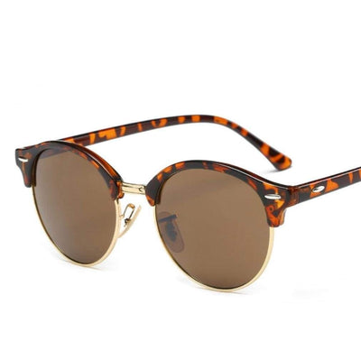 SELENA SUNGLASSES BROWN - PINKCOLADA