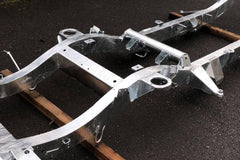 Galvanised Chassis Defender 130 200Tdi / 2.5TD / 2.5NA with Gearbox Crossmember