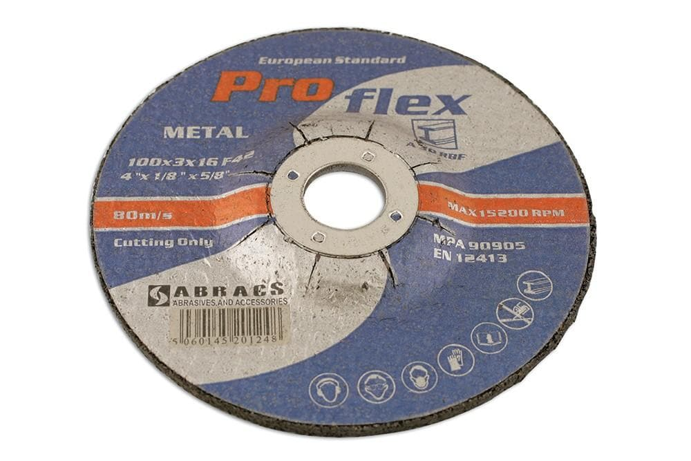 Laser Abracs 100mm x 3.0mm DPC Cutting Discs Pack 10 for Land Rover All Models | 32061