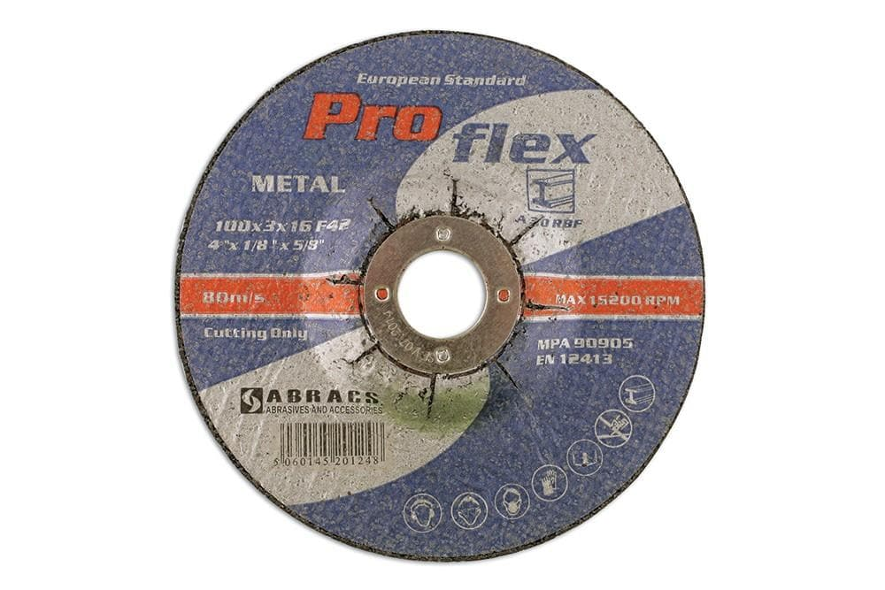 Laser Abracs 100mm x 3.0mm DPC Cutting Discs Box 25 for Land Rover All Models | 32064