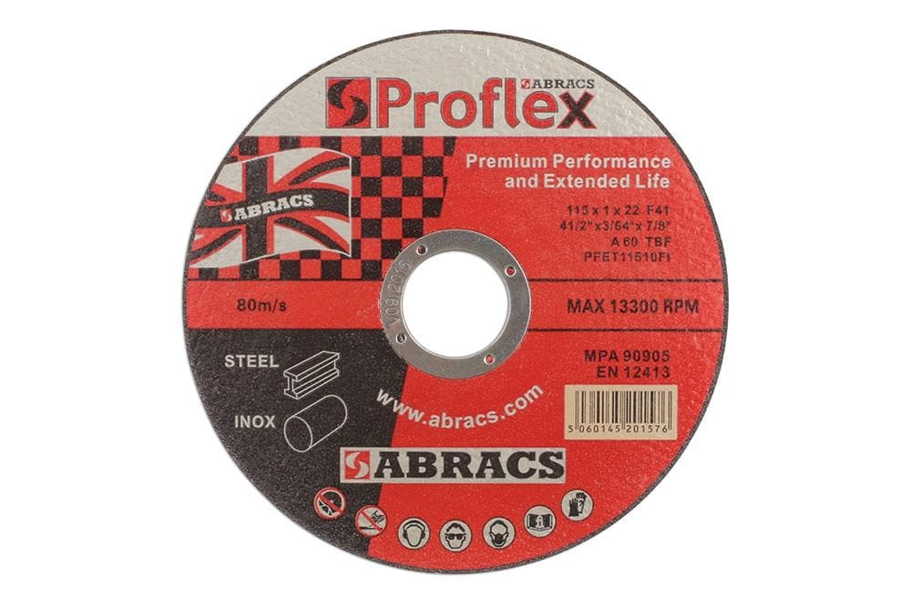 Laser Abracs 115mm x 1.0mm Extra Thin Discs Pack 5 for Land Rover All Models | 32067