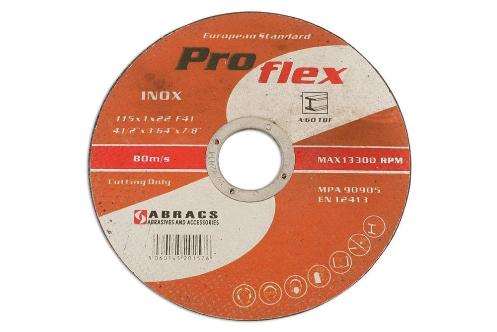Laser Abracs 115mm x 1.0mm Extra Thin Discs Tin 10 for Land Rover All Models | 32068