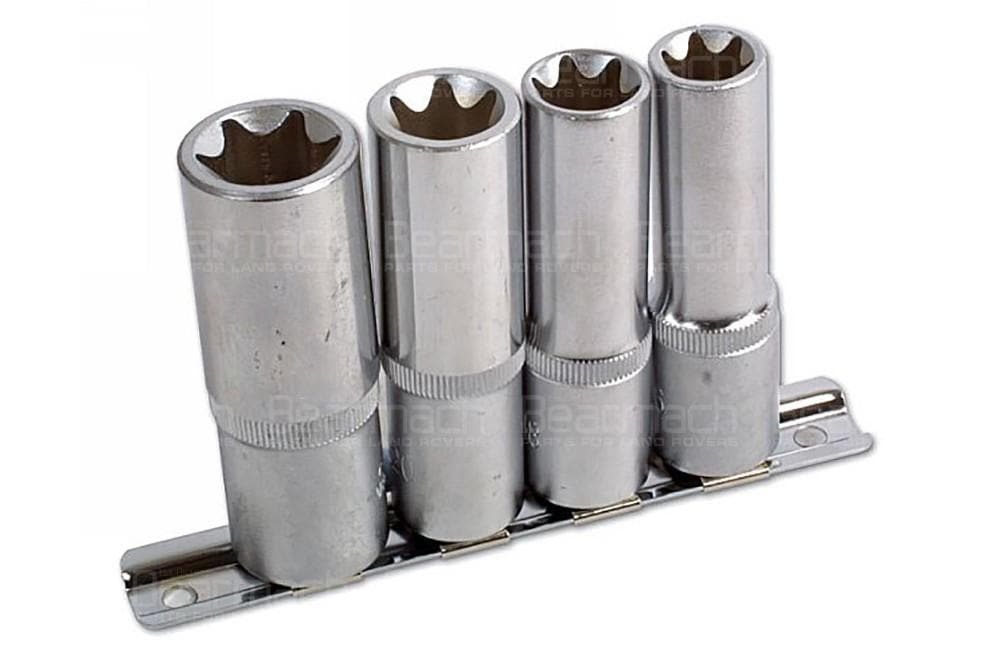 Laser Star Deep Socket Set - 4pc for Land Rover All Models | 3392