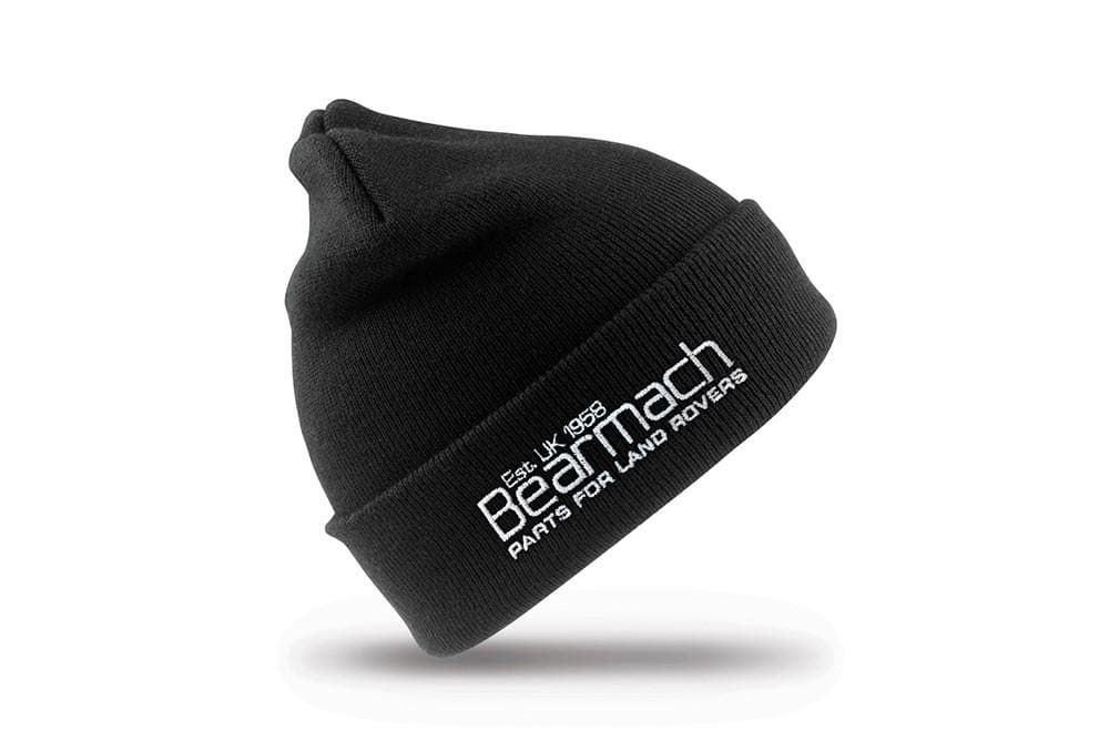 Bearmach Beanie Hat - black for Land Rover All Models | 50834