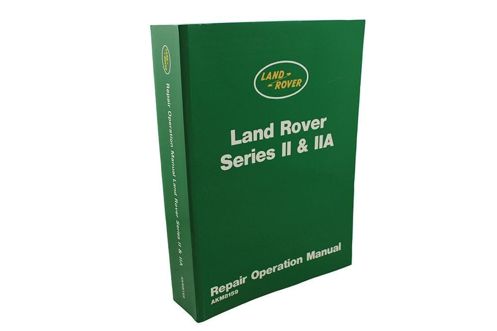 OEM Workshop Catalogue - Series 2 & 2a for Land Rover Series | 606407