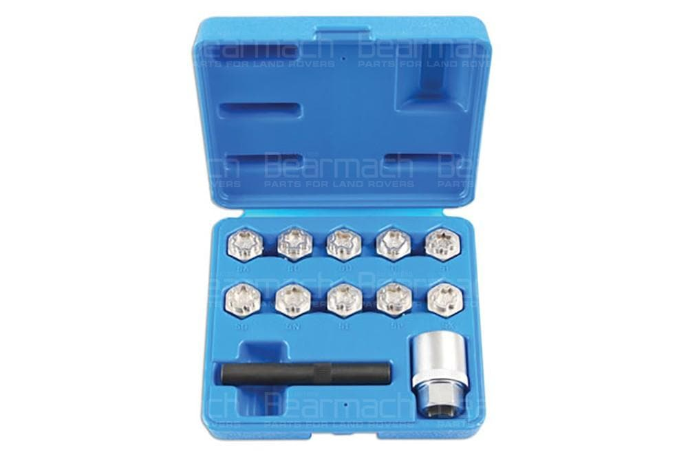 Laser Locking Wheel Nut Key Set - Mercedes Benz for Land Rover All Models | 6742