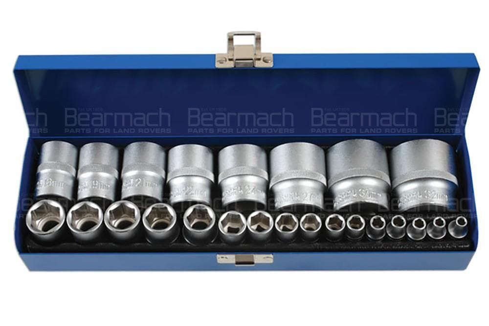Laser Socket Set 1/4D & 1/2D 24pc for Land Rover All Models | 6919