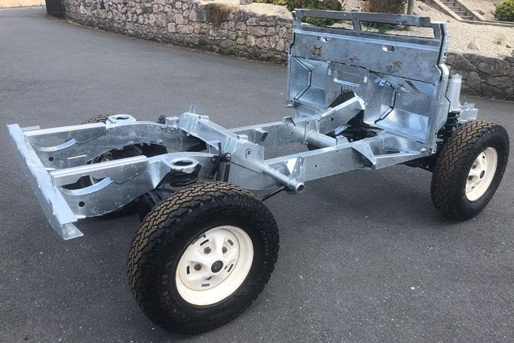 Galvanised Chassis Discovery 2 Td5 (Early 98-02)