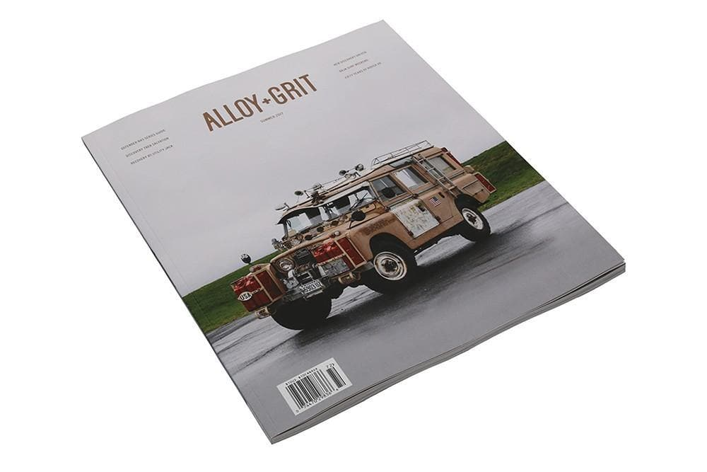 Alloy + Grit Alloy + Grit Magazine Summer 2017 Edition for Land Rover All Models | ALLOY+GRIT