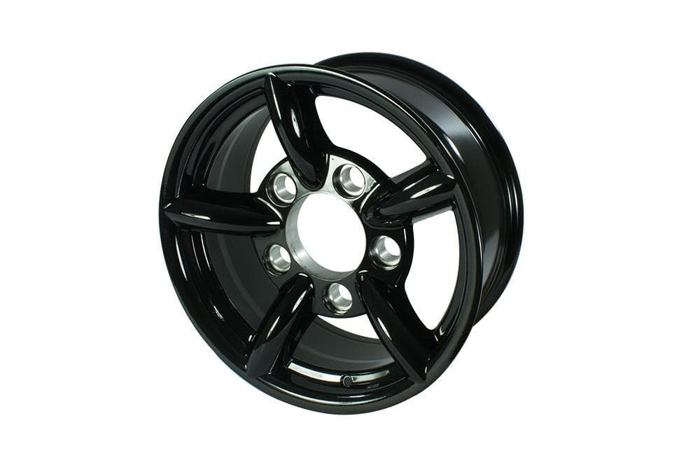 Bearmach 16 Black Challenger Alloy Wheel for Land Rover Defender, Discovery, Range Rover | BA 015K
