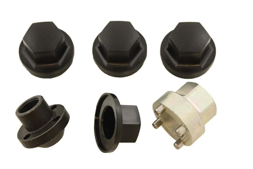 OEM Locking Wheel Nuts (set of 4) for Land Rover Series, Defender, Discovery, Range Rover | BA 017A