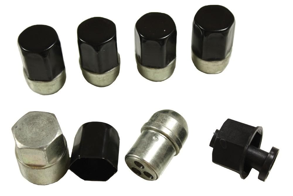 OEM Locking Wheel Nuts (set of 4) for Land Rover Freelander | BA 018
