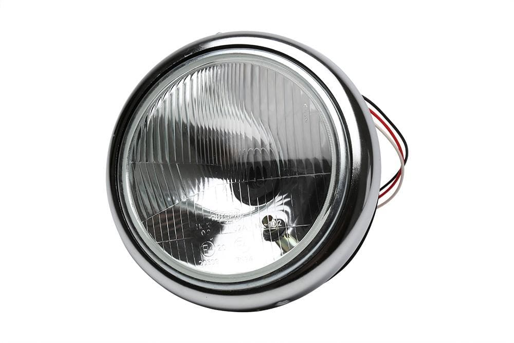 Bearmach Land Rover Series II Steel Headlight Bowl Kit | BA 051A