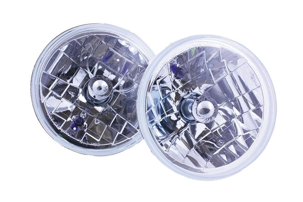Bearmach 7'' Crystal Headlamp Conversion Kit for Land Rover Series, Defender, Range Rover | BA 070C