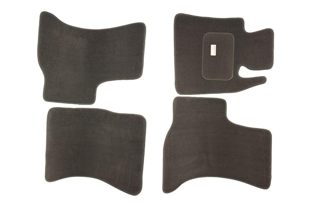 Bearmach Range Rover Classic Charcoal Grey RHD Carpet Mat Set for Land Rover Range Rover | BA 082
