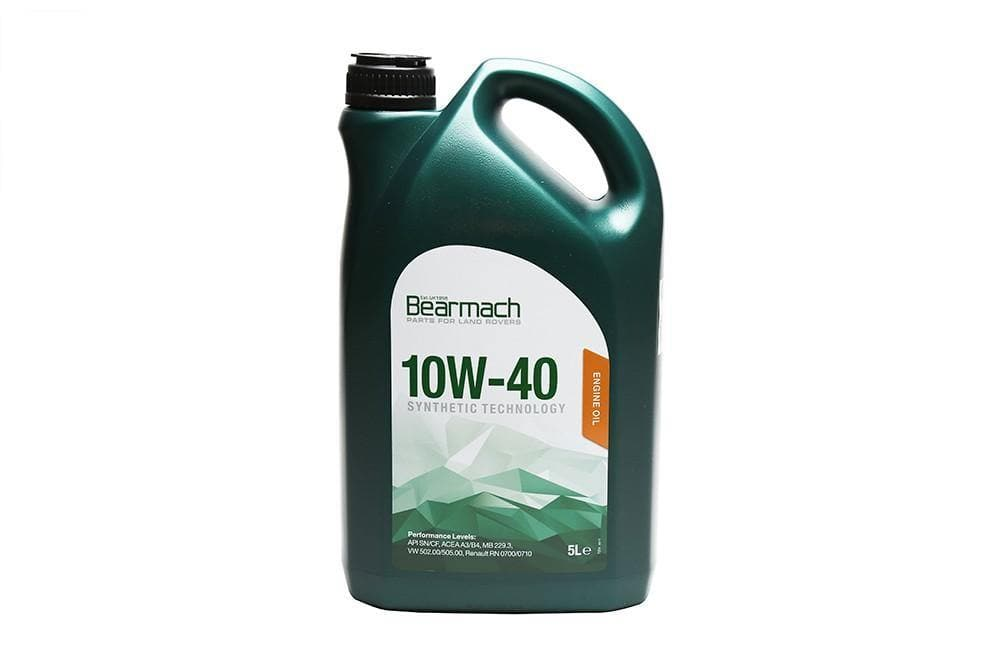 Bearmach 10W40 Synthetic Oil 5 Litre for Land Rover Series, Defender, Freelander, Discovery, Range Rover | BA 10102
