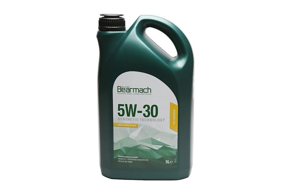 Bearmach 5W30 Synthetic Oil Lowsap 5 Litre for Land Rover Defender, Freelander, Discovery, Range Rover | BA 10103