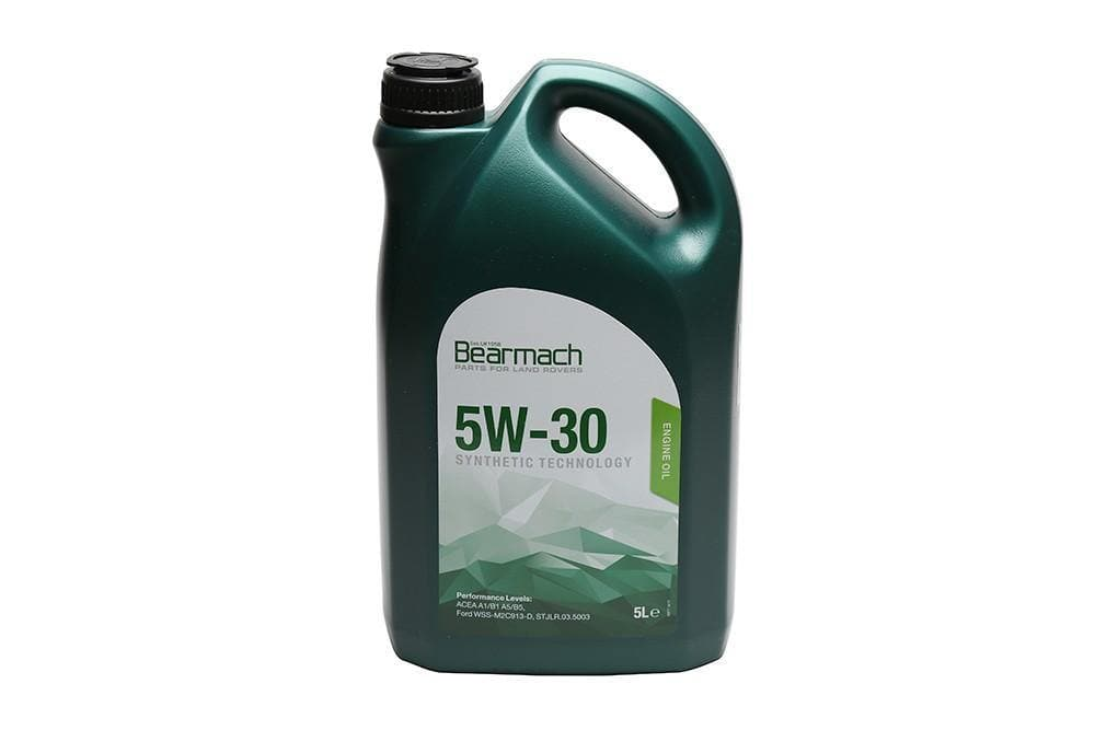 Bearmach 5W30 Synthetic Oil 5 Litre for Land Rover Defender, Freelander, Discovery, Range Rover | BA 10104