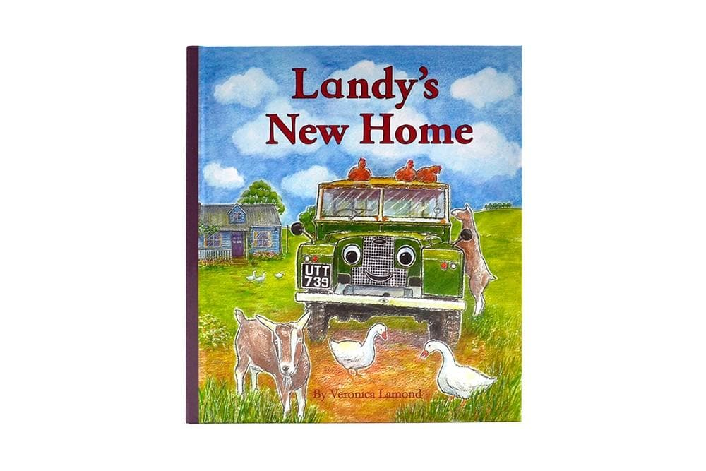 Landy Books Landys New Home Paperback for Land Rover All Models | BA 1012