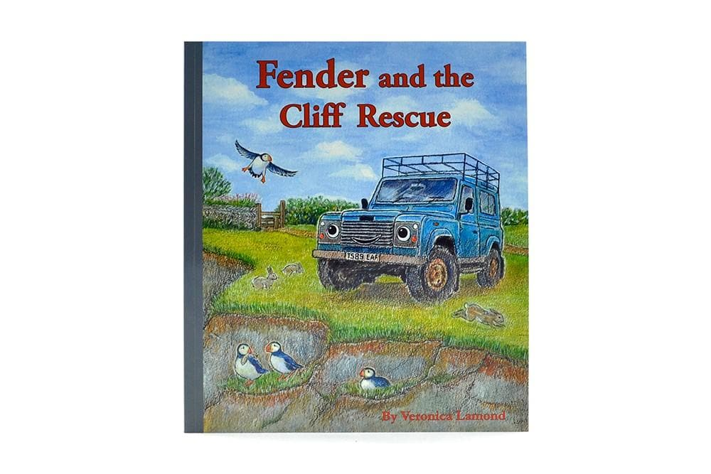 Landy Books Fender And The Cliff Rescue Paperback for Land Rover All Models | BA 1015