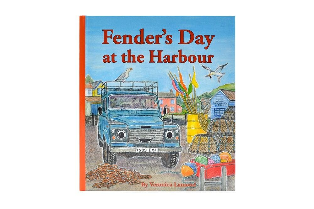 Landy Books Fenders Day At The Harbour HB for Land Rover All Models | BA 1020